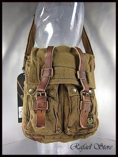 Borsa Tracolla Uomo BELSTAFF 756194 Large Man Bag Mountain Brown