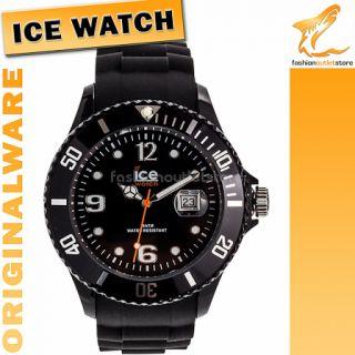 17 ORIGINAL ICE WATCH SI BK B S 09 Sili Armbanduhr Uhr Herren Schwarz