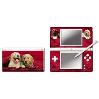 Nintendo DS Lite   Modding Skin  Two Red Dogs  Games