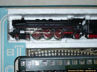 Märklin 3148 Startset mit BR01 in hellblauer Originalschachtel