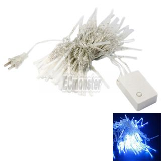 Brand Blue 10m 100 LED Fiber Optic String Light Christmas New Supper