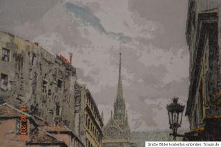Hans Figura Bacchus D´Or Paris Original Radierung auf Seide Silk
