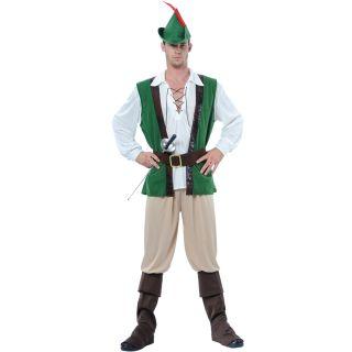 Robin Hood Verkleidung fuer Maenner Halloween Party Fasching Karneval