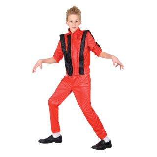 Michael Jackson King of Pop Verkleidung Halloween Kostüm für Jungs