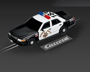 Carrera GO!!! Ford Crown Victoria Police Car 61106 NEU + OVP