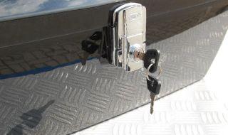 Trike Koffer, Topcase Universal 51L mit Rückenpolster
