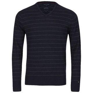 Tommy Hilfiger Kaschmir Pullover Pulli MARIUS blau grau S , M , L , XL