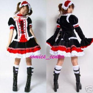 Gothic Lolita Kostüm Cosplay D97