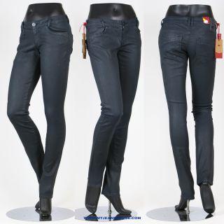 Cross Jeans Melissa 472 kräftiges Anthrazite Leder Optik super
