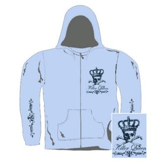 Killer Queen Girl Kapuzensweater   Gr: S  Black Crown (21656)
