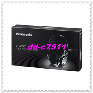 Panasonic Wireless Stereo Headphone System RP WF7 K Best Deal Limited