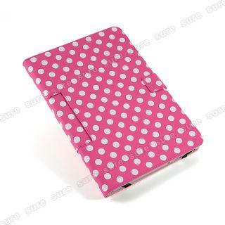 Pink Leder Tasche case cover Hülle für 10 Zoll Tablet PC ePad aPad