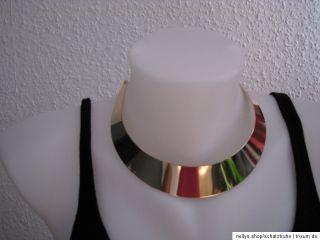 Collier Blogger Statement Punk Halsreif Halskette Metall Boho Vintage