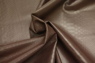 SNAKESKIN SNAKE EFFECT FAUX LEATHER LEATHERETTE UPHOLSTERY FABRIC 60