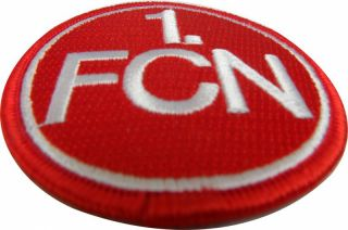 Aufnäher Patch 1.FCN Nürnberg Logo Emblem