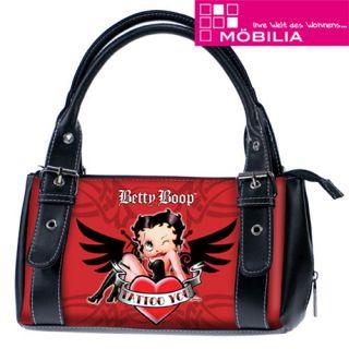 Handtasche Henkeltasche Betty Boop Zebra TRENDLABEL
