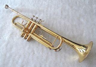 DIMAVERY TP 10 Bb Trompete GOLD mit Koffer #55561