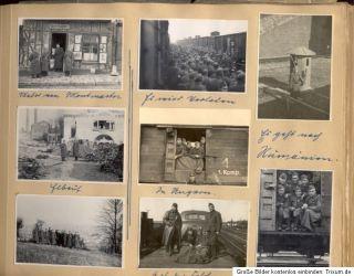 orig. Fotoalbum, Luftwaffe, ME 109, JU 87, JU 88, rumänische Kennung