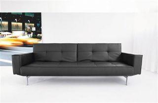 Innovation OZ Klappfsofa Couch Schwarz Black Sofa