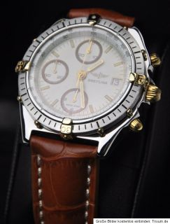 Breitling Windrider Chronomat Ref. 81950 in Stahl Lederband 19