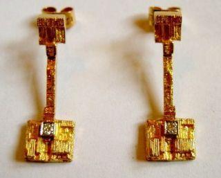 Lapponia Ohrhänger Thai 18K/750er Gold (hängende Ohrstecker)