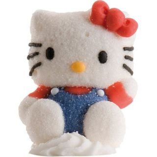 Tortendeko Hello Kitty Marshmallows 2D (2tlg.) Geburtstag Party Torte