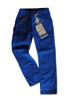 VINGINO Winter 2013 bunte Jeans KYNAN nautical blue Gr.11/146 NEU