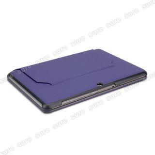 Lila Tasche Hülle Cover Case mit Stand für Samsung Galaxy Tab 2 10.1