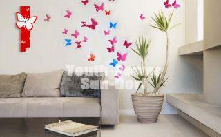 Wandtattoos Wandsticker Wanddekos Wanddeko 3D Schmetterlinge für
