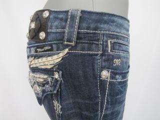 Miss Me JP5330T4 Straight Damen Jeans blau Gr.W27 neu