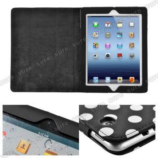 Tasche Schutzhülle Etui Ständer Für Apple iPad 3 Smart Cover Case