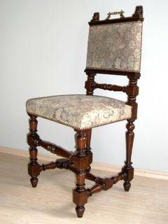 ... Gründerzeit 6 Stühle + 2 Armlehnstühle Renaissance Esszimmer ...
