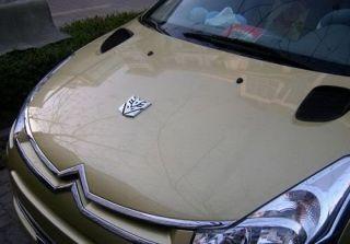 Transformers Auto 3D Aufkleber Decepticon car sticker