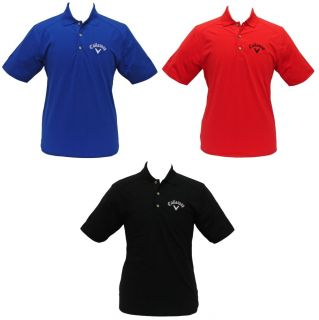 2011 CALLAWAY CHEV STRETCH TOUR LOGO GOLF POLO SHIRT