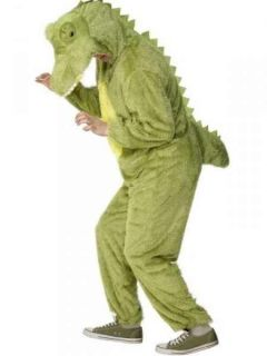 Krokodil Dino Karneval Kostüm Gr.48 50 Ganzkörperkostüm