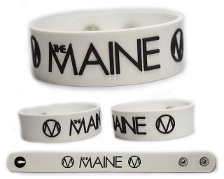 THE MAINE Rubber Bracelet Wristband Cant Stop, Wont Stop