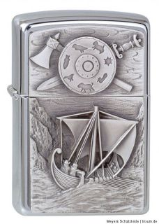 Original ZIPPO VIKING COLLECTION limited set in wooden collectible Box