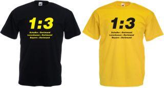 Fan T Shirt Dortmund Sche, Lev, Bayern  Do 13
