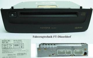 Toyota Avensis T22 CD W53804 Radio Autoradio CD Spieler Player CD