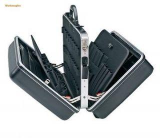 KNIPEX 00 21 40 LE Werkzeugkoffer Big Twin leer