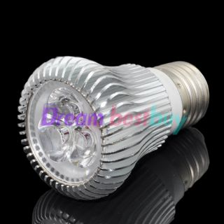 6W White E26 Medium base High Power LED PAR16 Light Spot Lamp