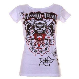 Venum T Shirt Muay Thai   Baby Look   for Women MMA UFC