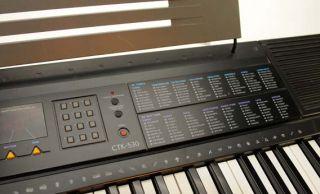 Keyboard Orgel Midi Klavier CASIO CTK 530 64 Sounds natürlicher Klang