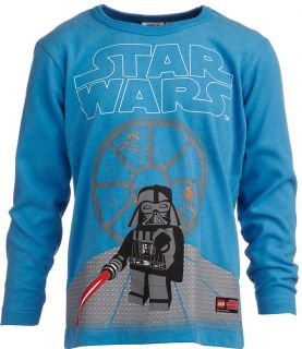 LEGO© Shirt Star Wars Darth Vader aqua TERRY 953 Gr. 122 H/W 12/13