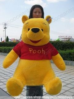 DISNEY ANIMAL GIANT Winnie the Pooh LARGE HUGE 40 AU