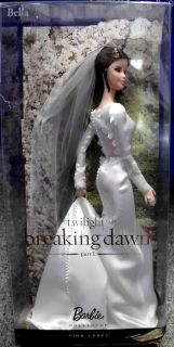 Mattel T7653 Twilight Breaking Dawn Bella Barbie Doll Puppe Neu