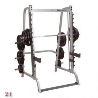 Body Solid Linear Multipresse, Smith Machine Press Rack