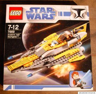Lego 7669 Star Wars Anakin´s Jedi Starfighter Anakin Skywalker NEU