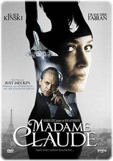 Madame Claude (Klaus Kinski) Metall Box  DVD NEU 555
