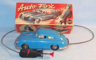 Gescha 559 Auto Fox Porsche 356, 50er Original im OK (22715)
